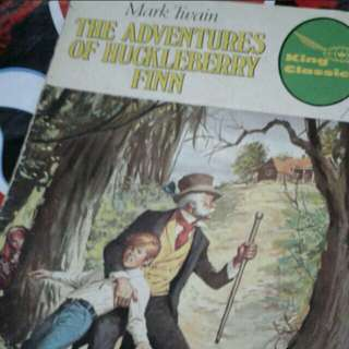 Mark twain  Adventures of huckleberry finn  A4 SIZE  Vintage comics collectible  $10 each  Collect at hougang buangkok mrt