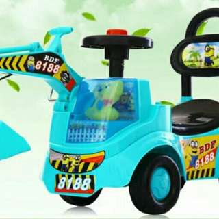 Ride On Car excavator kids