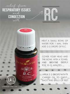 R.C. Young living Essential Oil 5ml