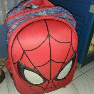 Tas ransel spiderman