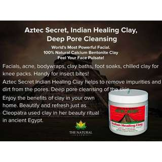 Aztec Secret, Indian Healing Clay (454 g)  IN STOCK (AUTHENTIC)