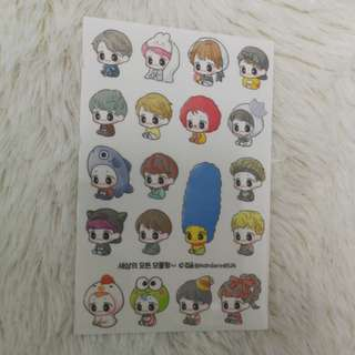 EXO Baekhyun mandarin0326 stickers