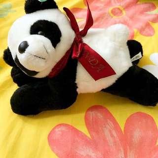 小熊貓毛公仔