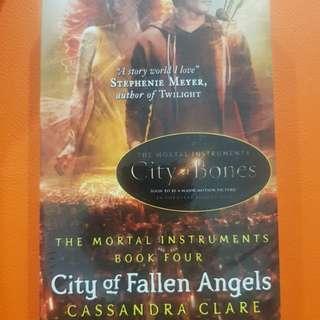 The mortal instruments book 4: City of fallen angels