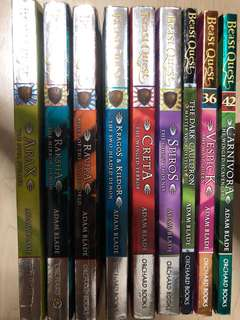 Beasts Quests Books