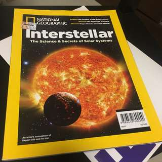 New National Geographic Interstellar The Science & Secrets of Solar Systems