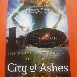The mortal instruments book 2: city of ashes