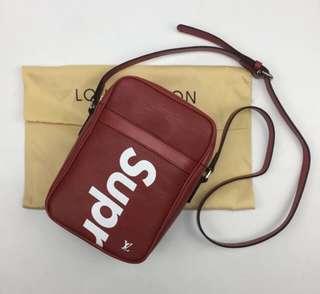 LV X Supreme Sling Bag