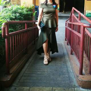 long gown/ dress