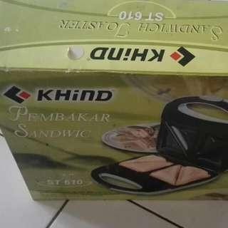 Khind Sandwich Maker (ST610)