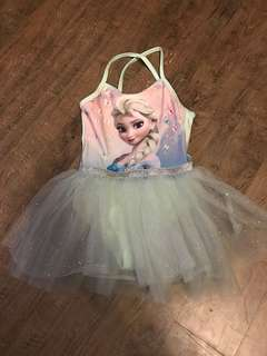 H&M Frozen Mint Green Tutu Dress (2-4Y)