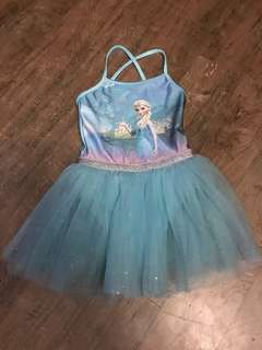 H&M Frozen Blue Tutu Dress (2-4Y)