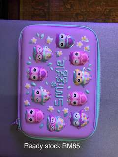 Smiggle pencil case ready stock new