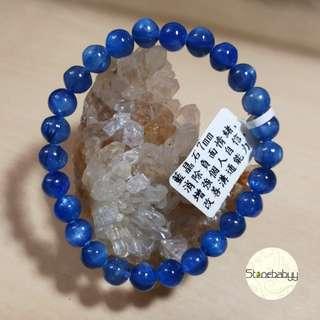 Kyanite 藍晶石 7mm 水晶鏈