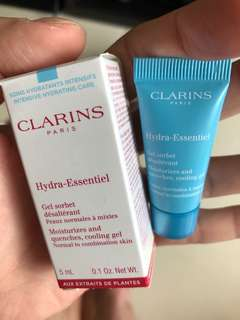 BN Clarins Hydra-Essentiel Cooling Gel – Normal to Combination Skin 5ml