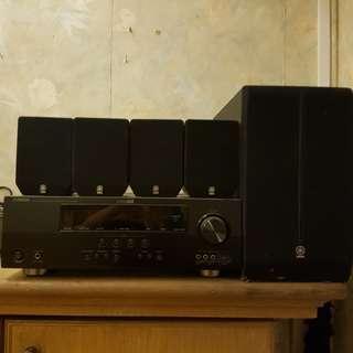 Yamaha entertainment system