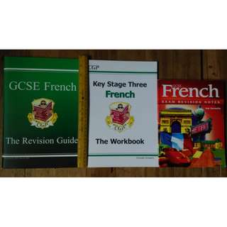 French Francais Books RARE
