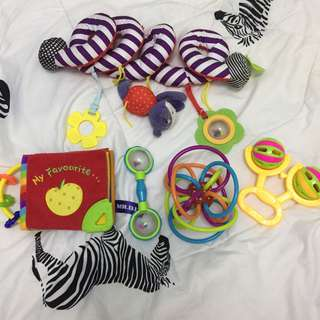 All for rm20 baby teething toy