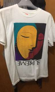 Supreme  Abstract Picasso Tee T-shirt