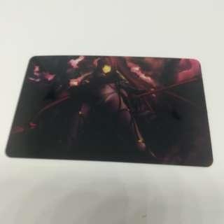 Fgo lancer card sticker