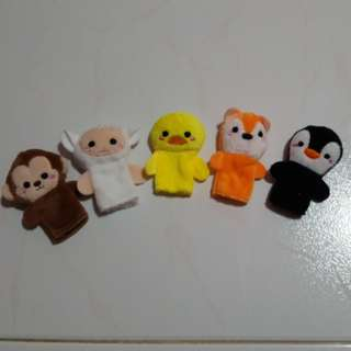 5 fingers Small Plush Toy