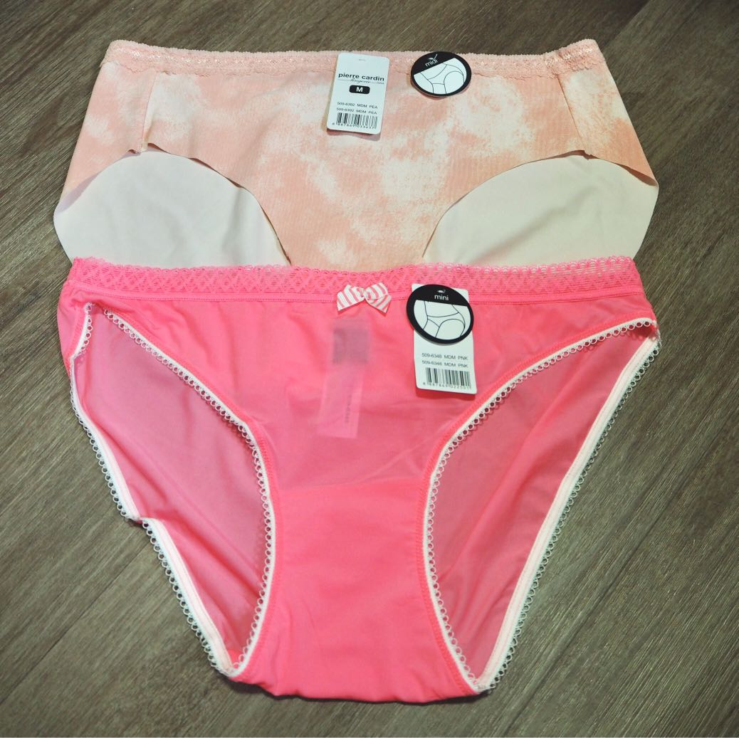 13c14babef2f22 2 Pierre Cardin Panties, Women's Fashion, Clothes, Others on Carousell