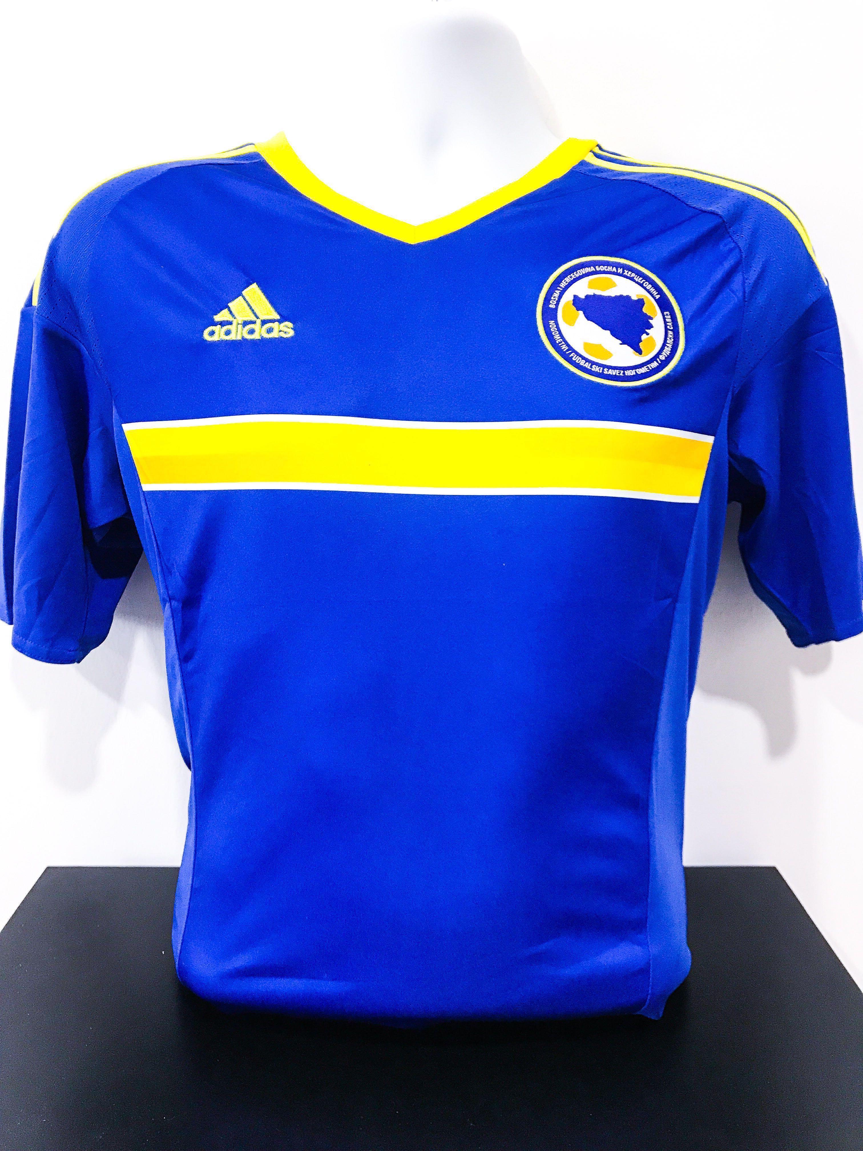 f851ee8d3 🆕 Bosnia Herzegovina UEFA Euro 2016 Home Jersey, Sports, Sports ...