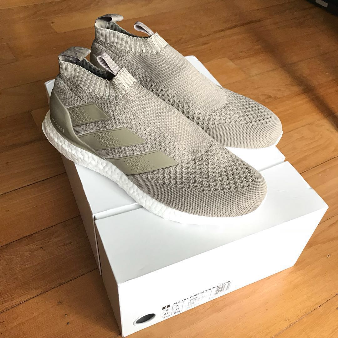 the latest 23ea5 3bf32 Adidas Ace 16+ Purecontrol Ultraboost (ClaySesame), Mens Fas