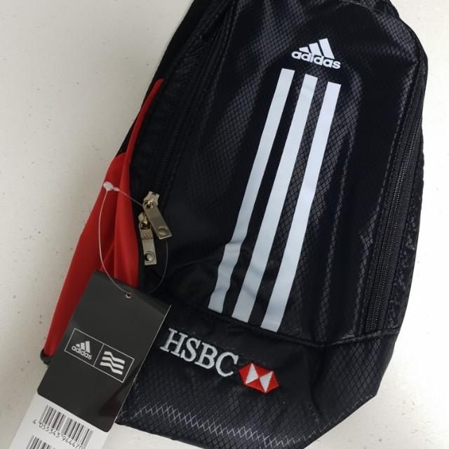 Adidas Shoe Bag (HSBC), Sports, Sports Apparel on Carousell