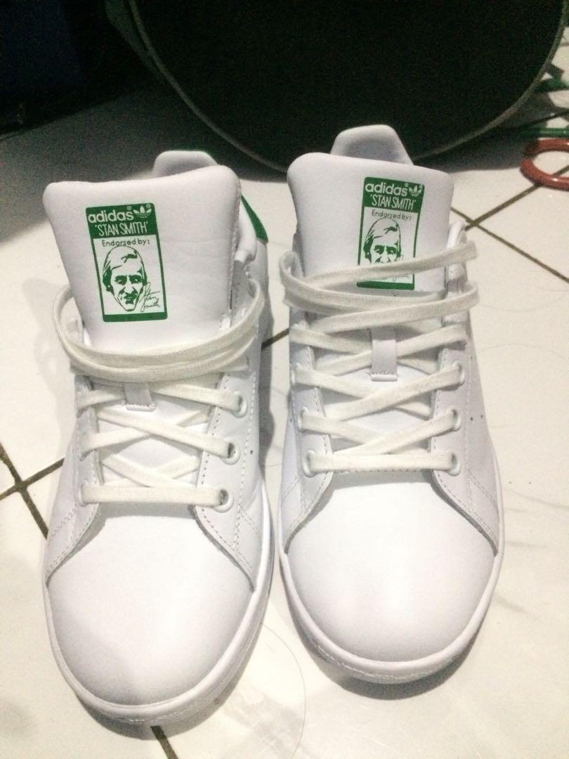 Adidas stan smith white green NEW 655f68da37