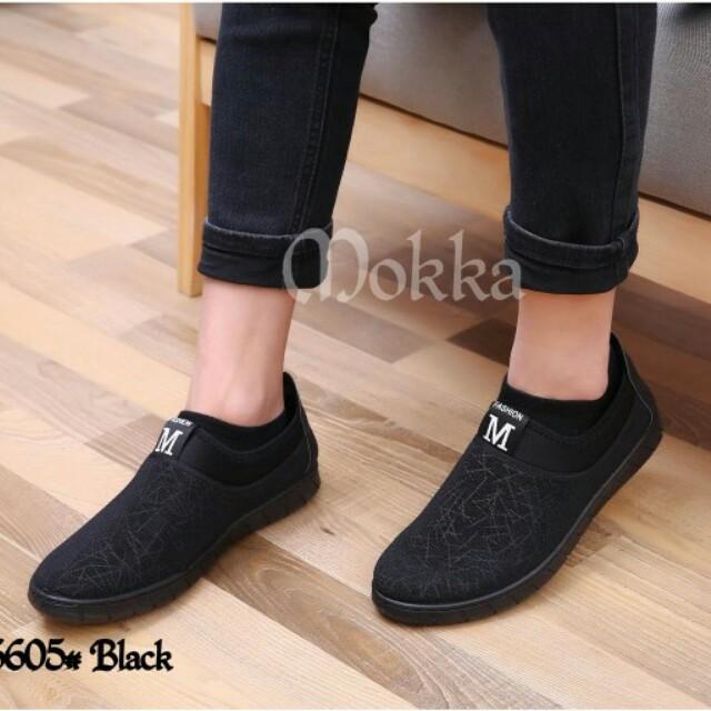 Asli Import Sepatu Slop Preloved Fesyen Pria Di Carousell