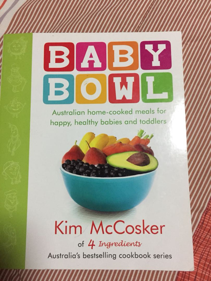 Baby book recipe for 6 mos up babies kids others on carousell photo photo photo photo forumfinder Images