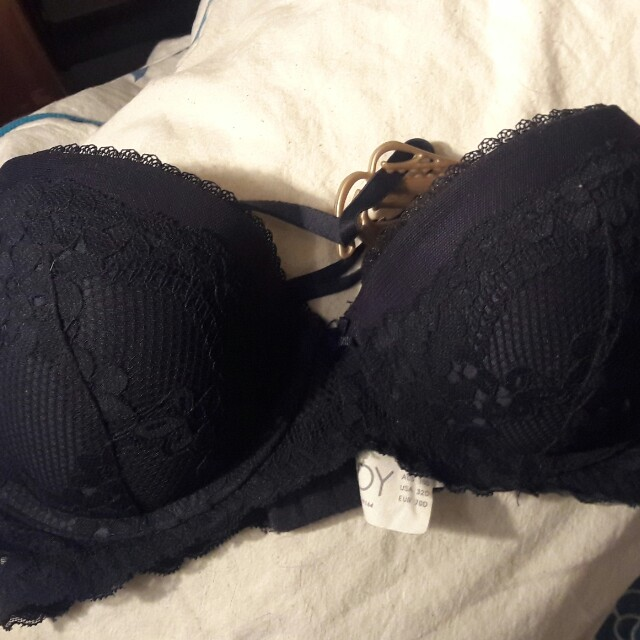 BNWOT Lacy push-up in Navy