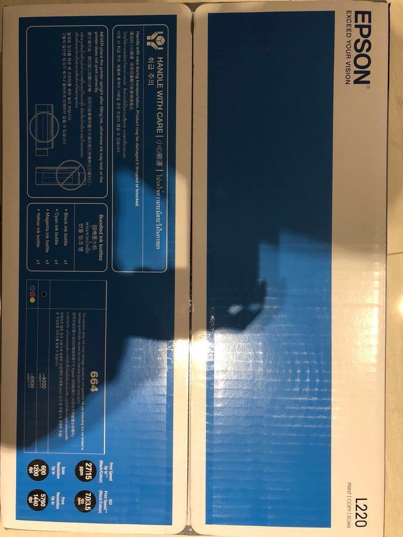 Brand New printer - Epson L220, Electronics, Computer Parts