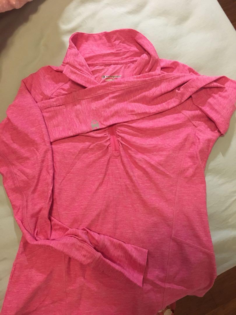 Champion pink overalls