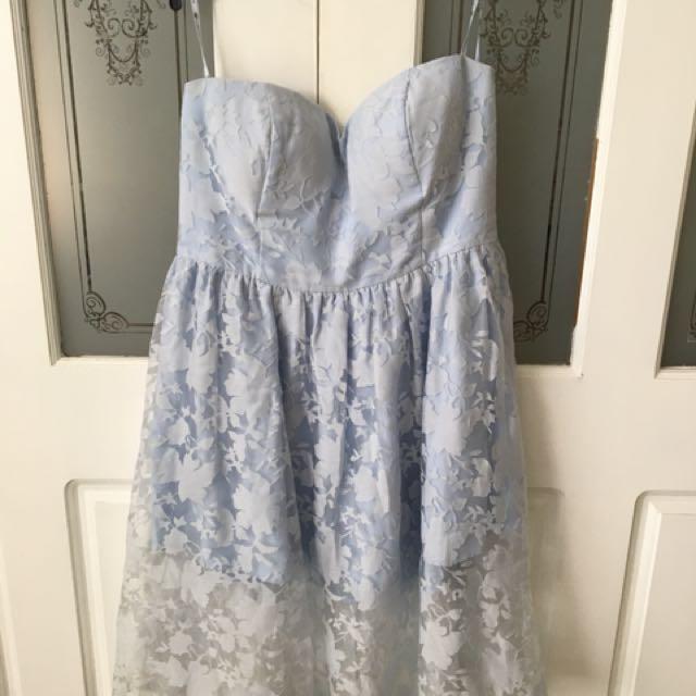 3ffe34d9a369a ChiChi London Curve Strapless Dress Size 18, Women's Fashion ...