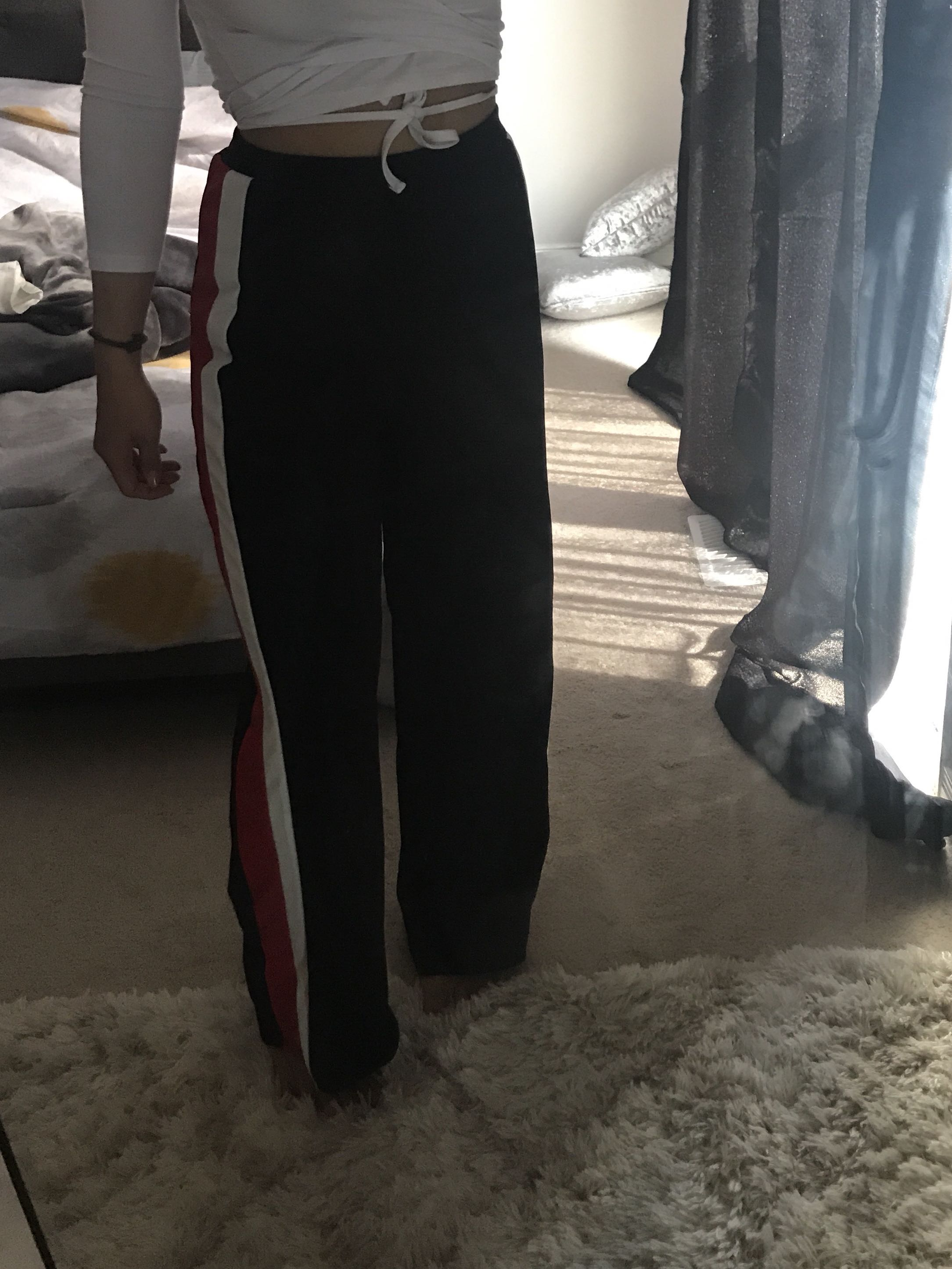 Comfy track trousers size 4
