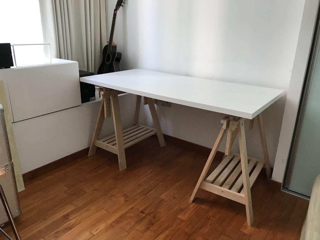Ikea bureau linnmon tisch ikea linnmon neu linnmon schreibtisch