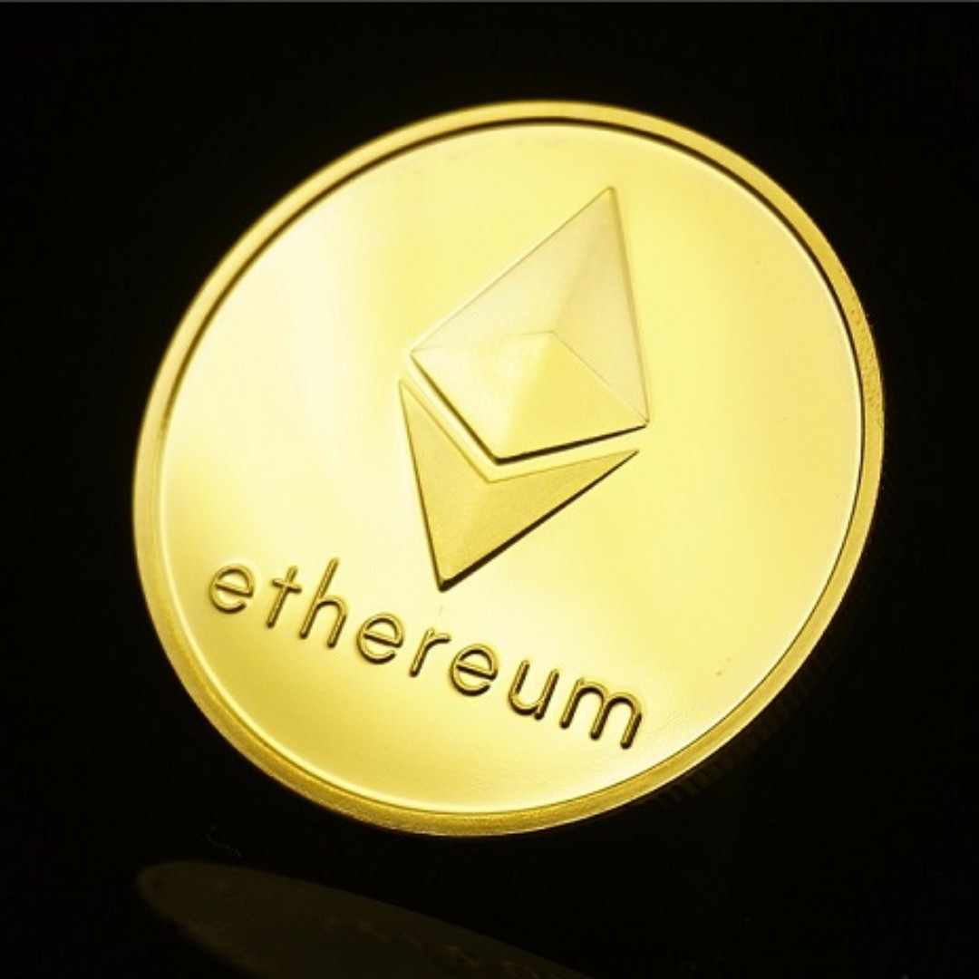 Ethereum / Bitcoin Collectible 1 Troy Ounce BTC / ETH