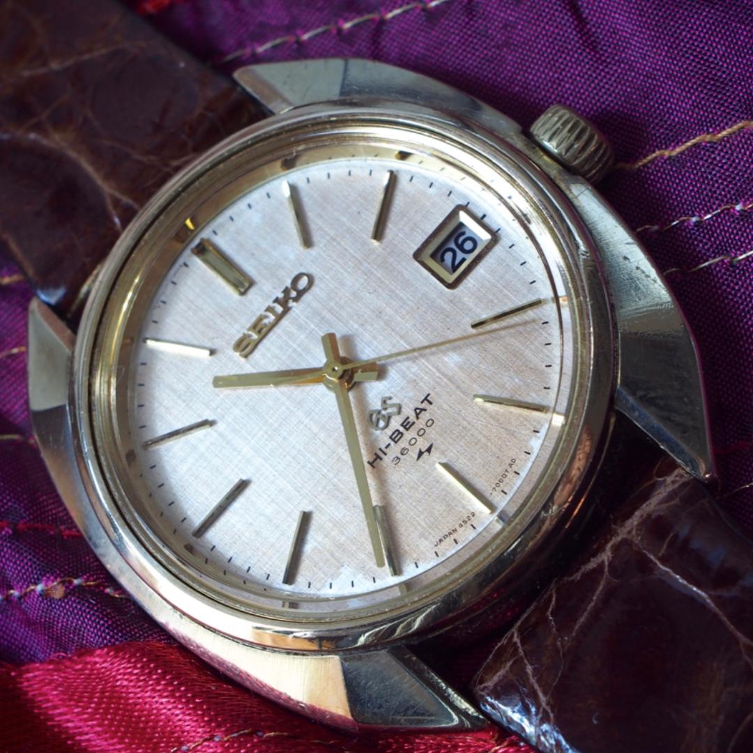 sale retailer fc869 8eb88 FS: Grand Seiko GS 4522-7000 Oct 1969, Vintage ...