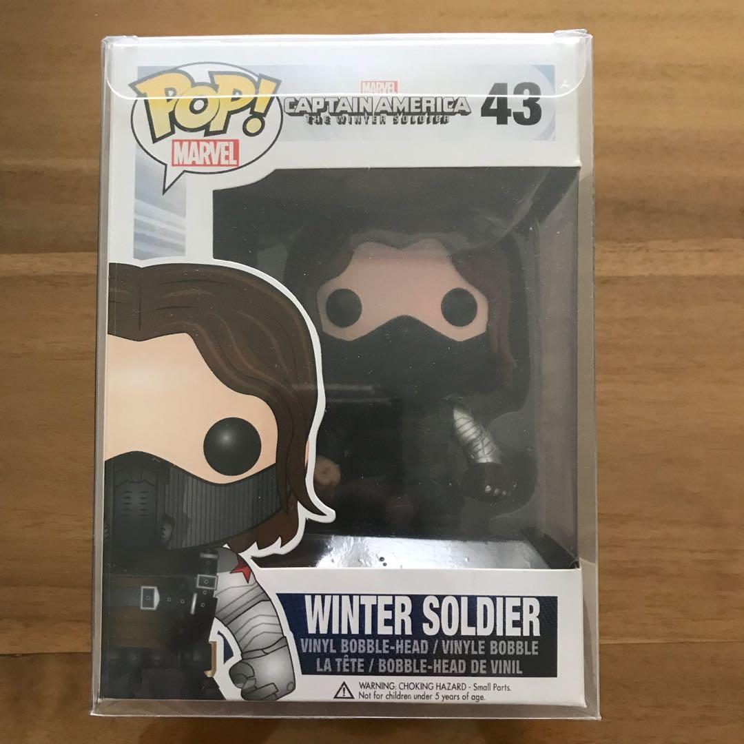 Funko Pop winter soldier (unmasked)