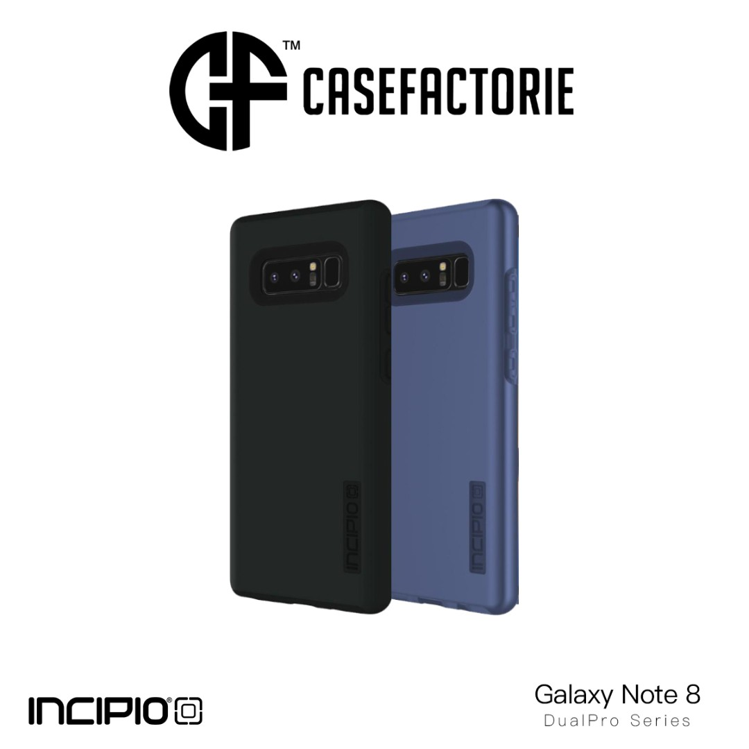 new product 661f6 71279 Incipio DualPro Case for Samsung Galaxy Note 8