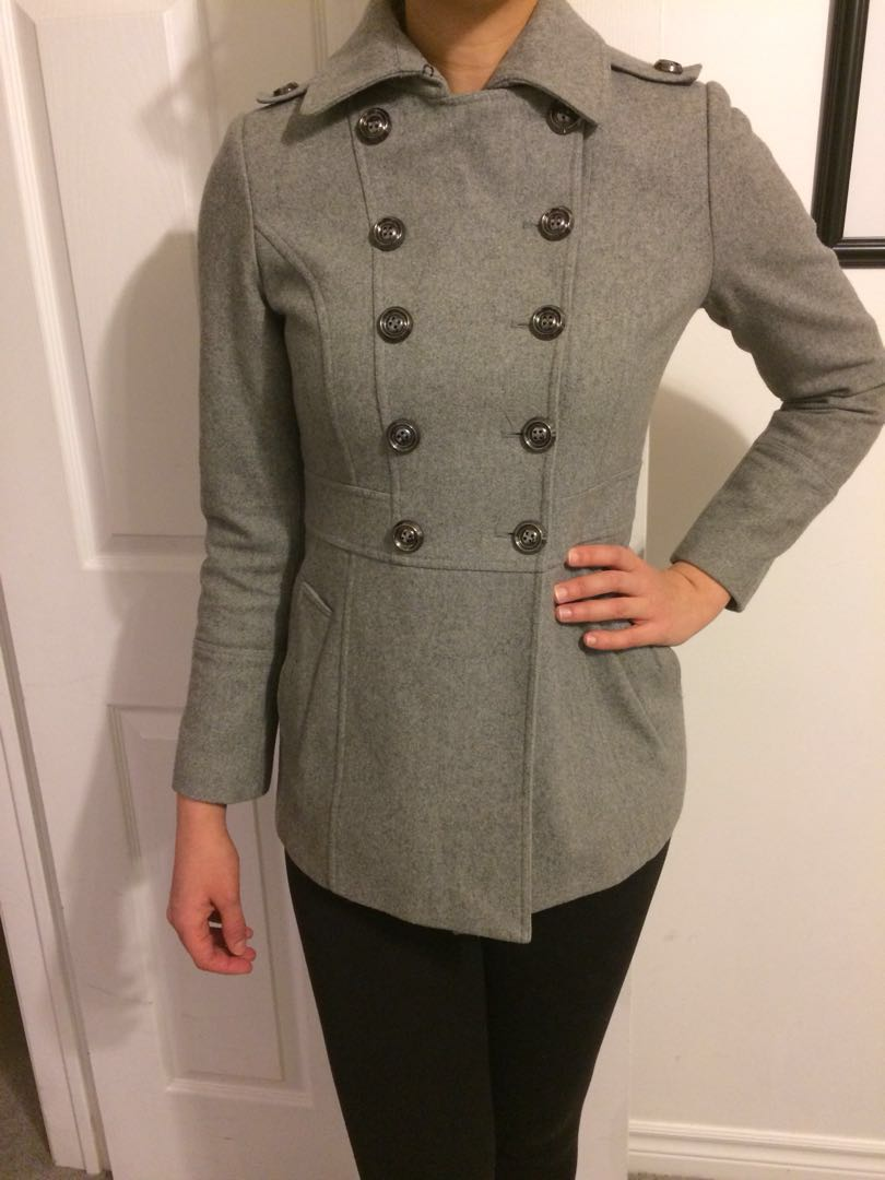Jacob Grey Coat- Fall or Spring