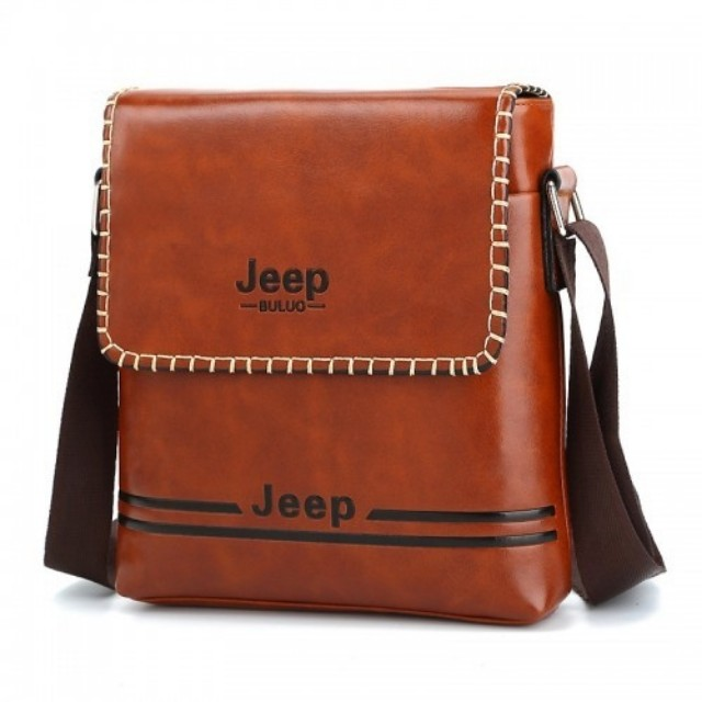 Jeep Buluo Men S Messenger Bags Leather Bag Fashion Wallets On Carou