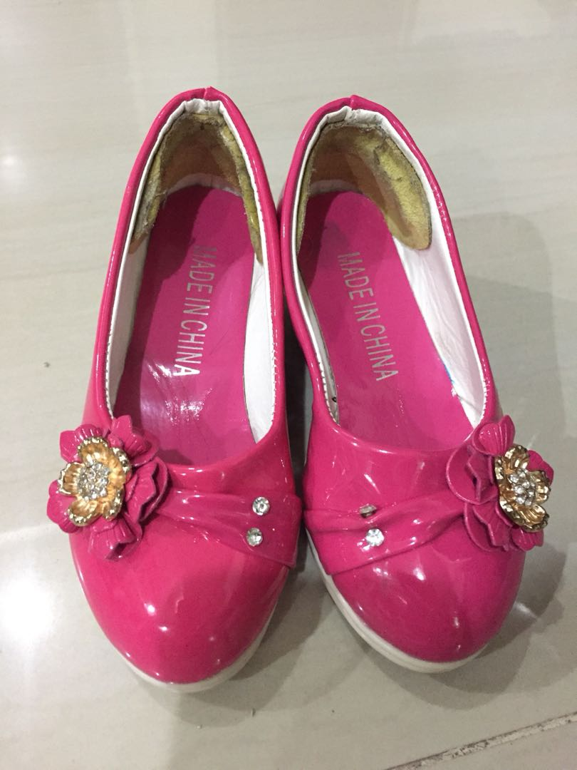 High pink heels for kids photo recommendations to wear for winter in 2019