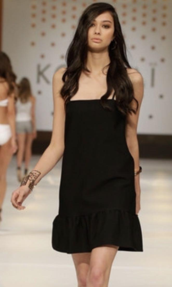 KOOKAI BLACK VICKY MINI DRESS 36 (8) 3c31c0979