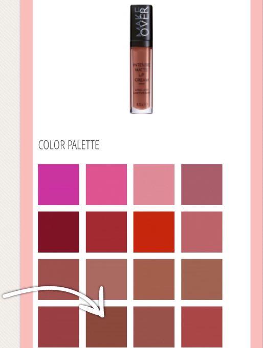 Make Over Intense Matte Lip Cream (Coco)