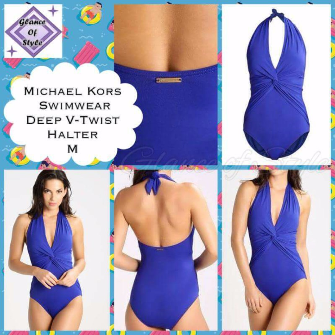 bb8faf2fcd65e Michael Kors One Piece Swimsuit, Women's Fashion, Clothes on Carousell