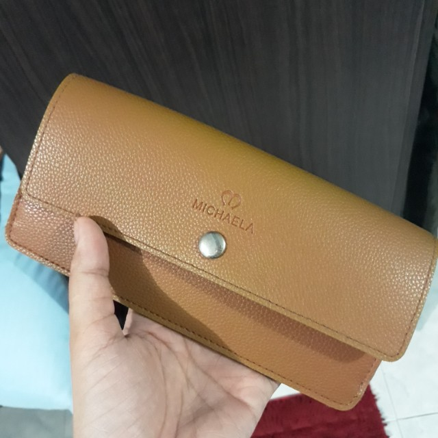 Michaela Soft Leather Wallet