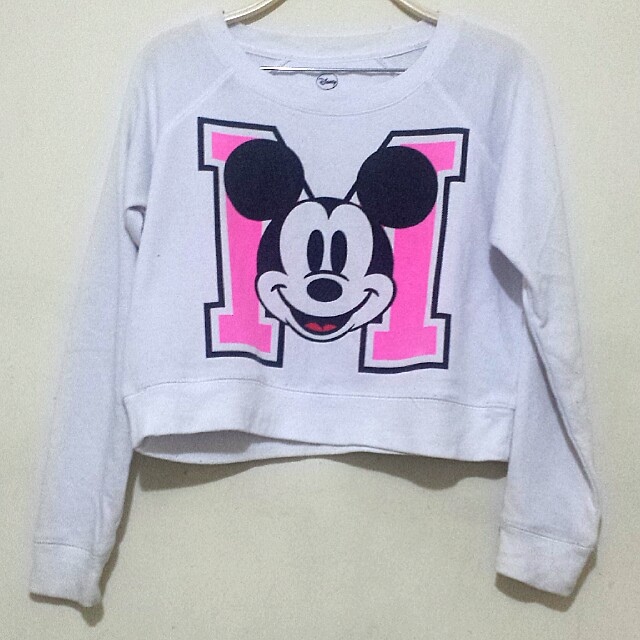Mickey mouse cropped jumper